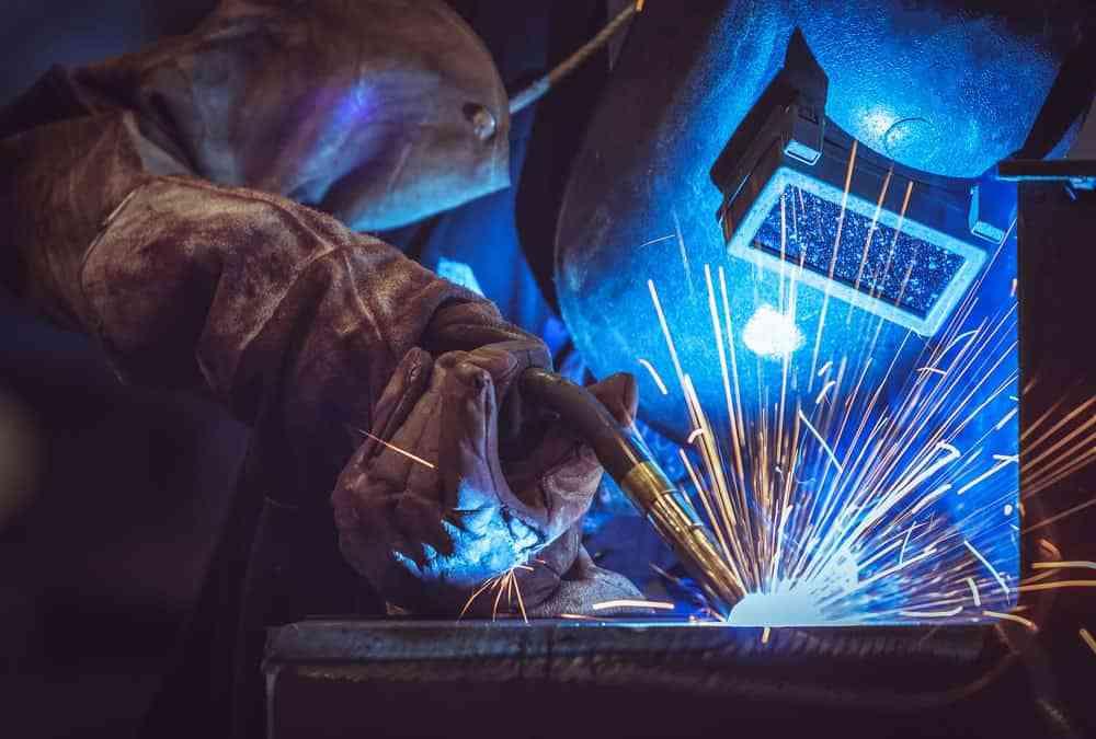 جوشکاری اسکلت فلزی ساختمان